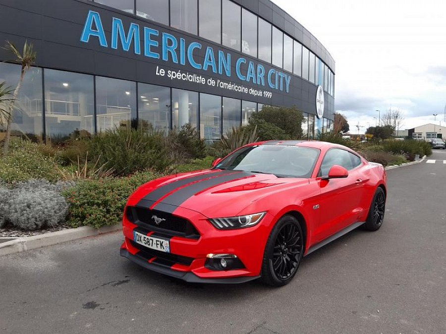 FORD MUSTANG VI (2015 - ...) GT 421 ch coupé occasion - 45 900 €, 55 900 km