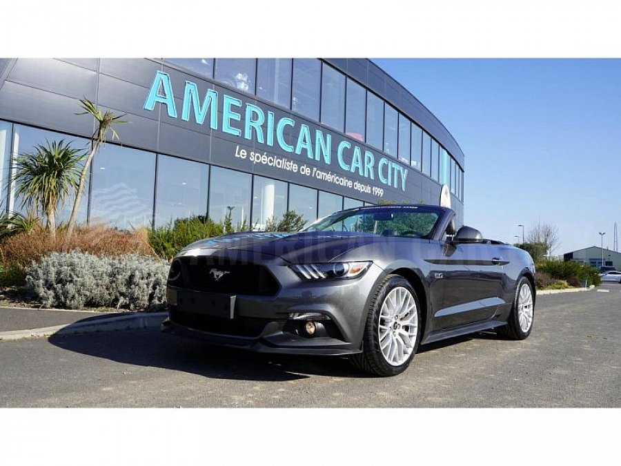 FORD MUSTANG GT 421 ch cabriolet occasion - 44 900 €, 24 000 km