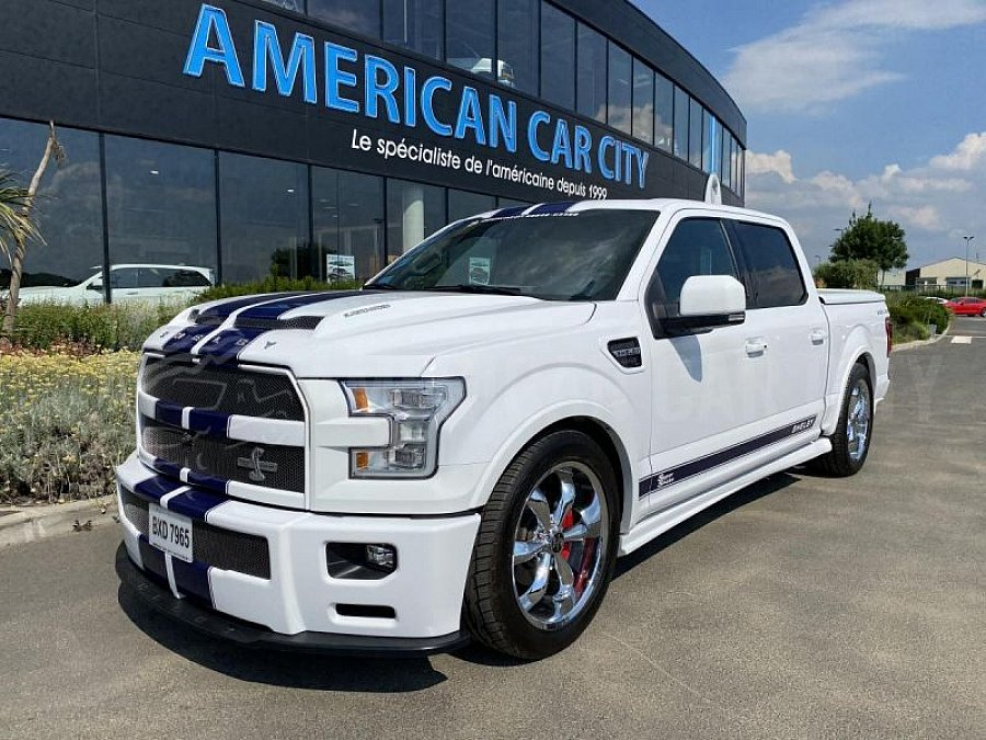ford usa f150 shelby super snake pick up occasion 174 900 600 km vente de voiture d. Black Bedroom Furniture Sets. Home Design Ideas
