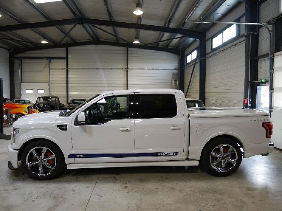 ford usa f150 shelby super snake pick up blanc occasion. Black Bedroom Furniture Sets. Home Design Ideas
