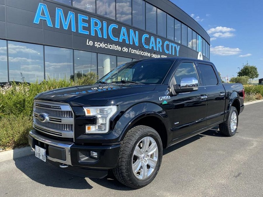 FORD USA F150 SUPERCREW PLATINUM pick-up occasion - 59 900 €, 59 000 km