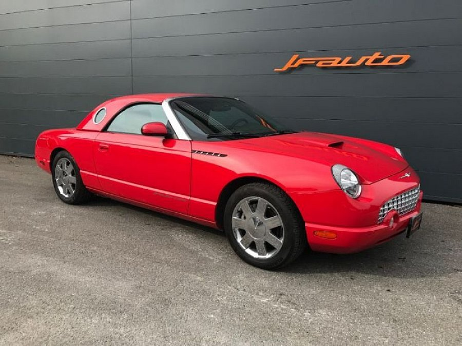 FORD USA THUNDERBIRD XI 3.9 V8 cabriolet Rouge occasion - 31 900 €, 69 900 km