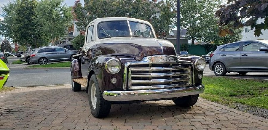 GMC 3100 Stepside 5 fenêtres pick-up Marron occasion - 31 000 €, 20 000 km