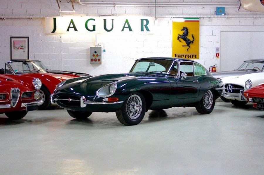 jaguar type e s rie 1 4 2l coup vert occasion 0 km vente de voiture d 39 occasion motorlegend. Black Bedroom Furniture Sets. Home Design Ideas