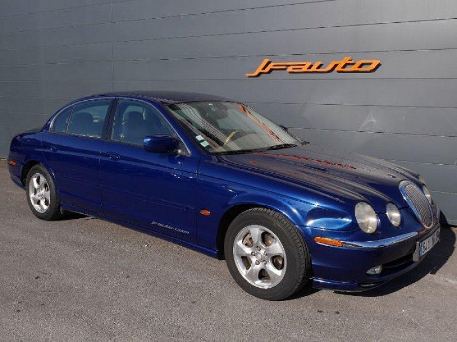 jaguar s type 3 0 v6 executive berline bleu fonc occasion 5 500 174 212 km vente de. Black Bedroom Furniture Sets. Home Design Ideas
