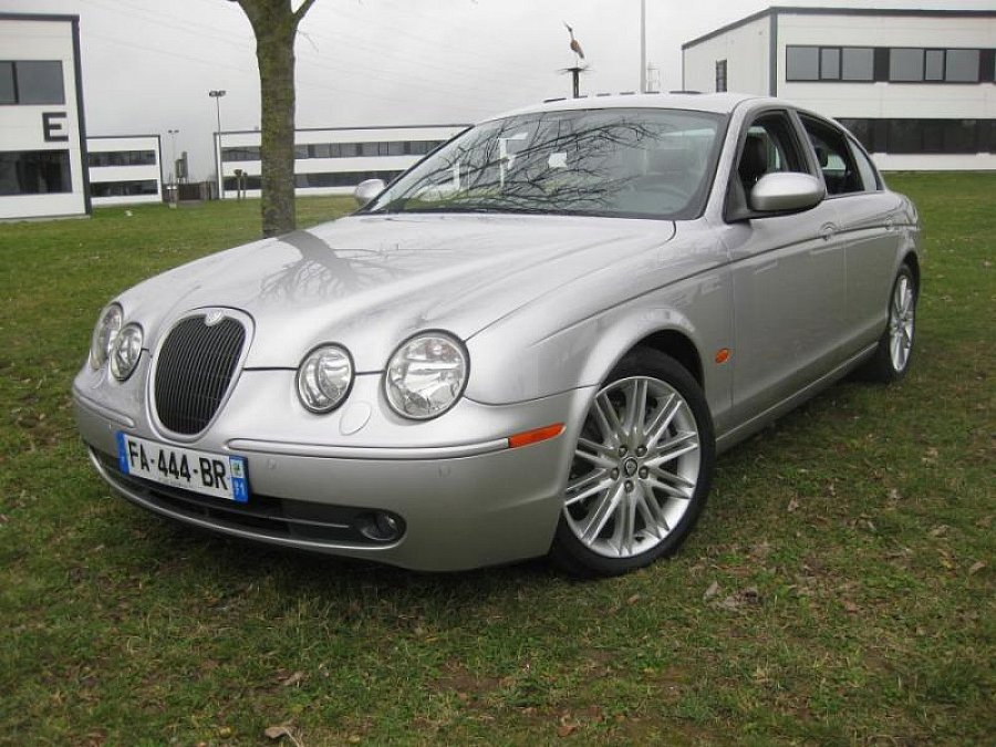 JAGUAR S-TYPE 2.7 V6 D Bi Turbo SPORT berline Gris occasion - 11 500 €, 105 000 km