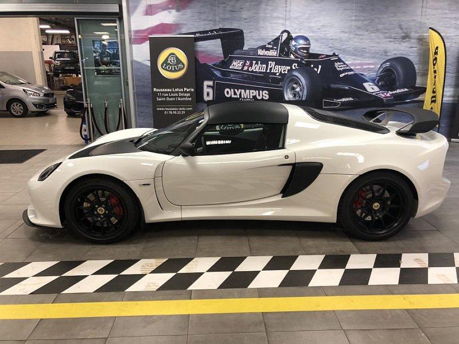 lotus exige serie 3 sport 350 coup blanc occasion 83 075 1 km vente de voiture d. Black Bedroom Furniture Sets. Home Design Ideas