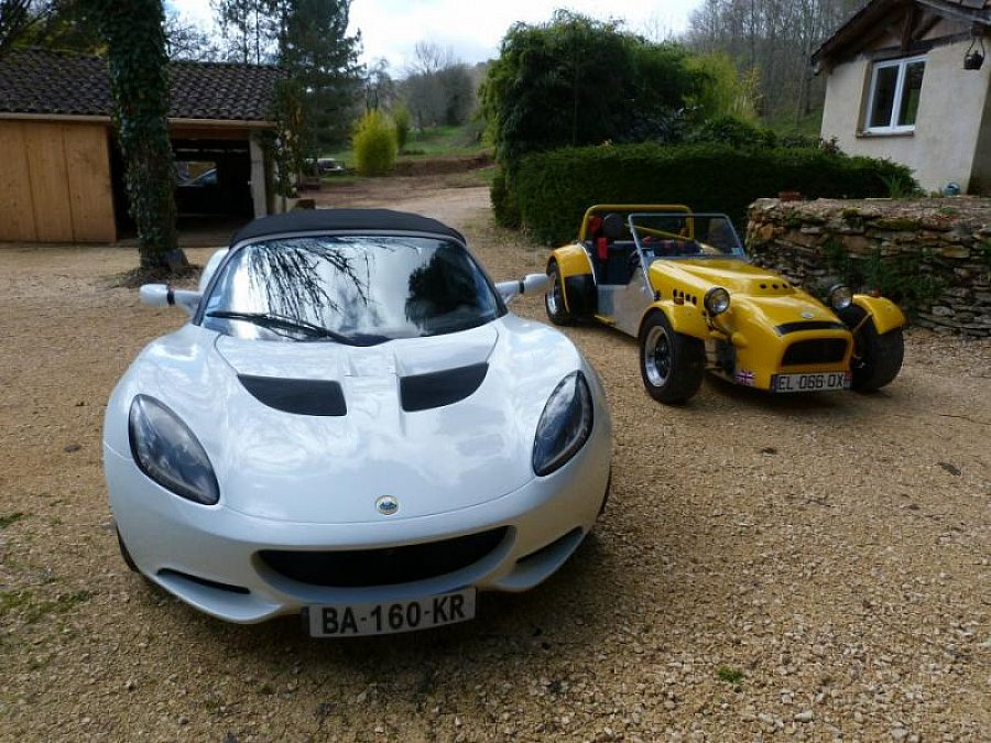 LOTUS ELISE Serie 3 1.6 cabriolet Blanc occasion - 27 500 €, 106 000 km