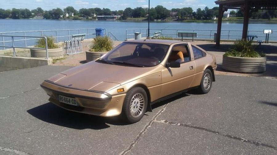 MATRA MURENA 2.2 L coupé Or occasion - 6 800 €, 165 000 km