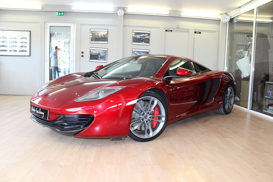 MCLAREN MP4-12C 3.8 V8 Biturbo coupé Rouge occasion - 117 800 €, 33 480 km