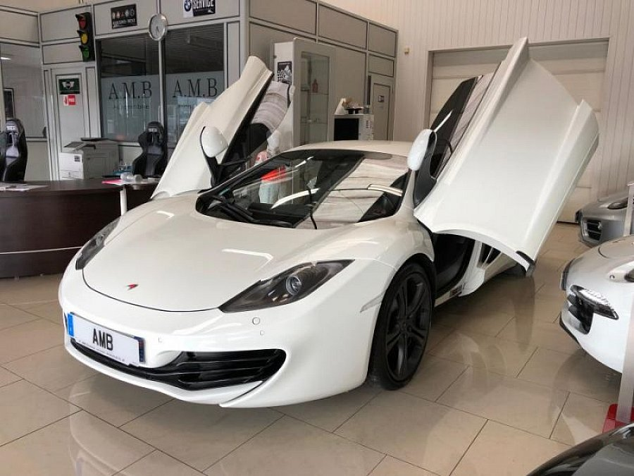 MCLAREN MP4-12C 3.8 V8 Biturbo coupé Blanc occasion - 105 990 €, 29 500 km