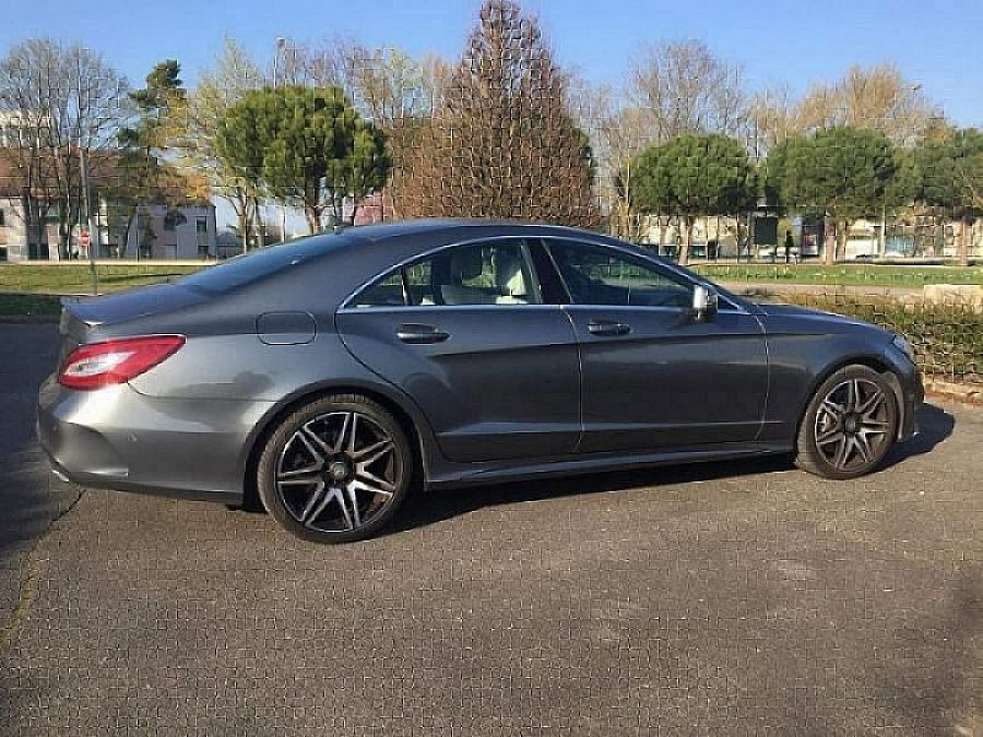 MERCEDES CLASSE CLS Berline C218 500 BlueEfficiency FASCINATION AMG LINE coupé Gris foncé occasion - 75 000 €, 12 000 km