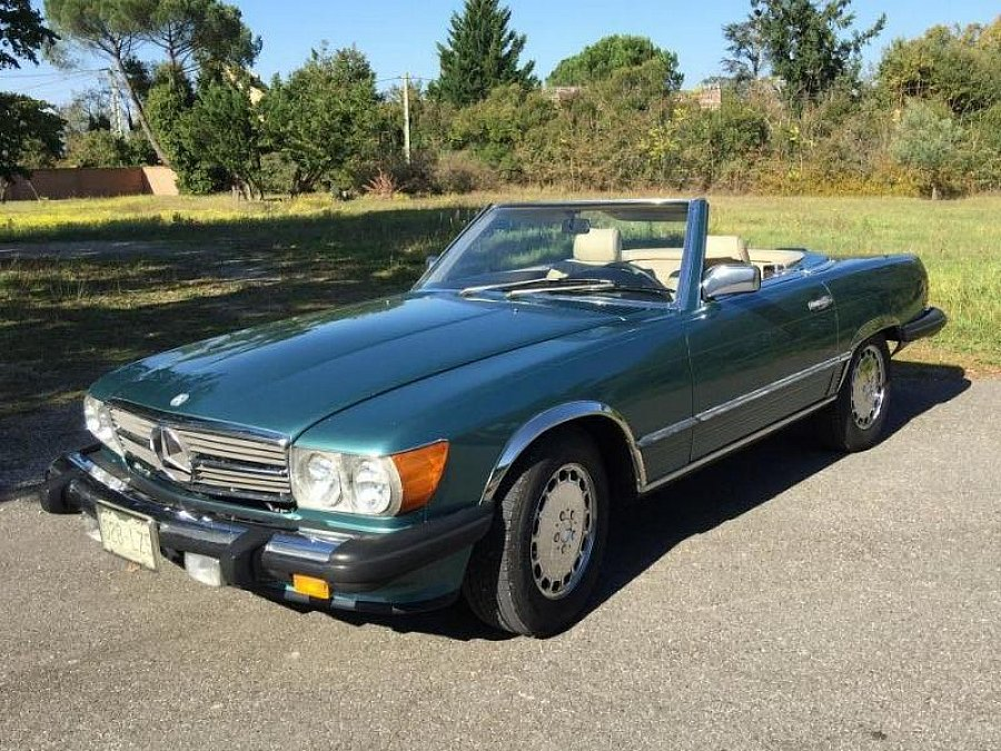 MERCEDES CLASSE SL R107 560 SL Pack Luxe cabriolet Vert occasion - 25 000 €, 210 000 km