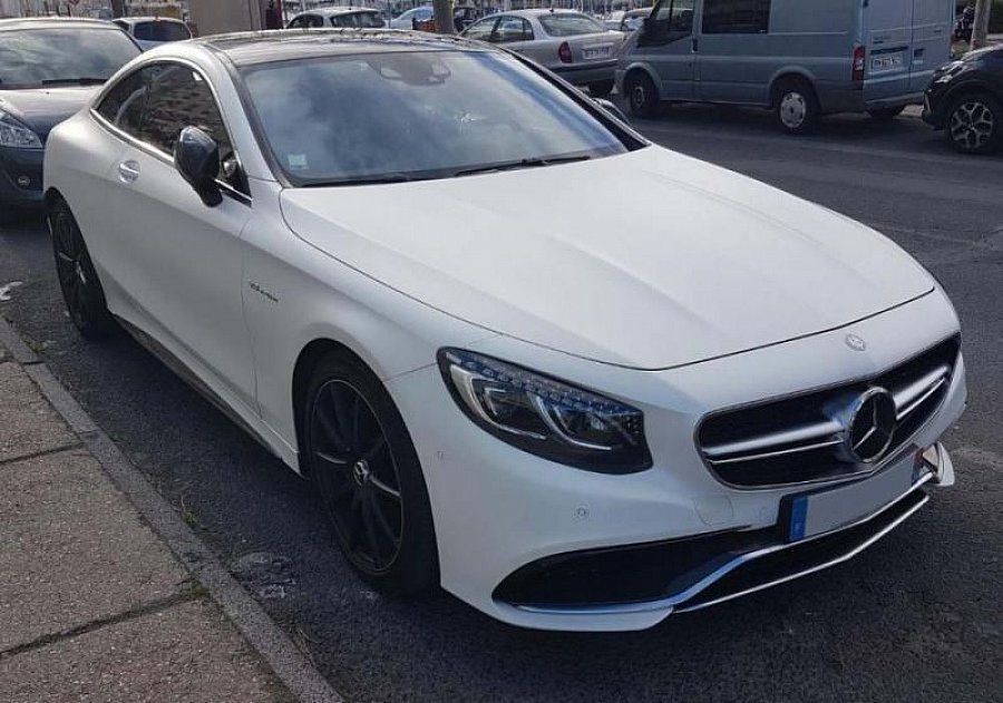 MERCEDES CLASSE S Coupé C217 63 AMG 4Matic Edition One coupé Blanc occasion - 88 500 €, 12 000 km