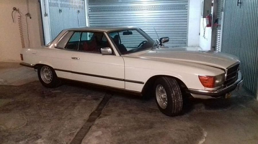 MERCEDES 450 SLC (C107) Pack luxe coupé Blanc occasion - 18 500 €, 55 422 km