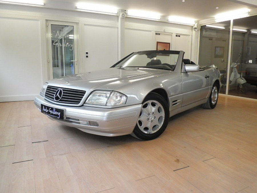 MERCEDES CLASSE SL R129 500 326ch cabriolet Argent occasion - 17 800 €, 144 600 km