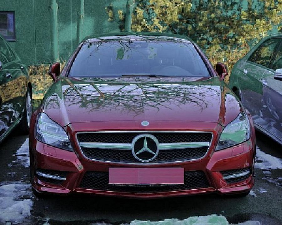 MERCEDES CLASSE CLS Shooting Brake X218 350 CDI BlueEfficiency Pack AMG break Bordeaux occasion - 34 500 €, 33 000 km