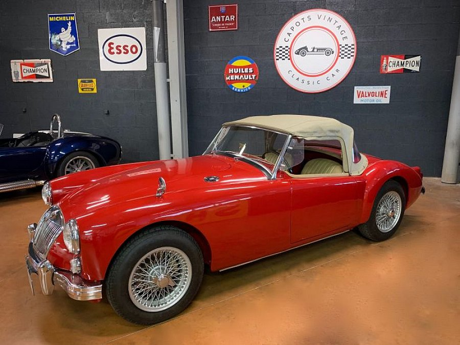MG A 1600 MKI cabriolet Rouge occasion - 33 500 €, 51 000 km