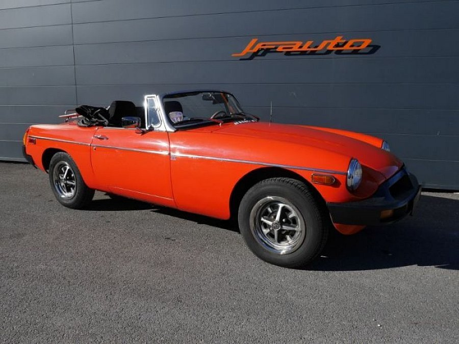 MG B Mk4 cabriolet Orange occasion - 13 500 €, 72 152 km