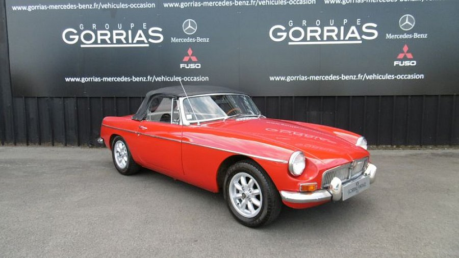 MG B Mk1 cabriolet Rouge occasion - 15 900 €, 125 324 km