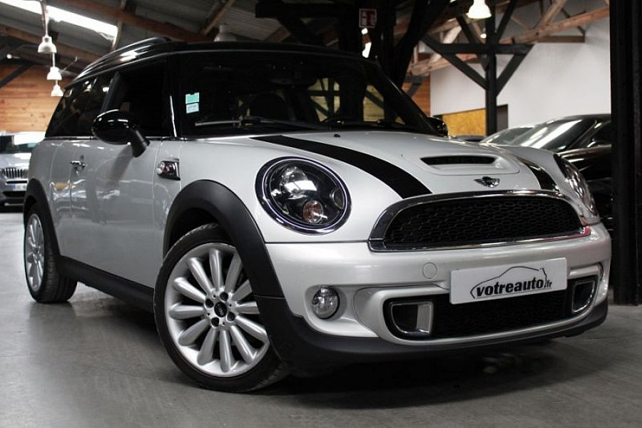 Mini Clubman F54 Pack Red Hot Chili Break Gris Clair Occasion 13