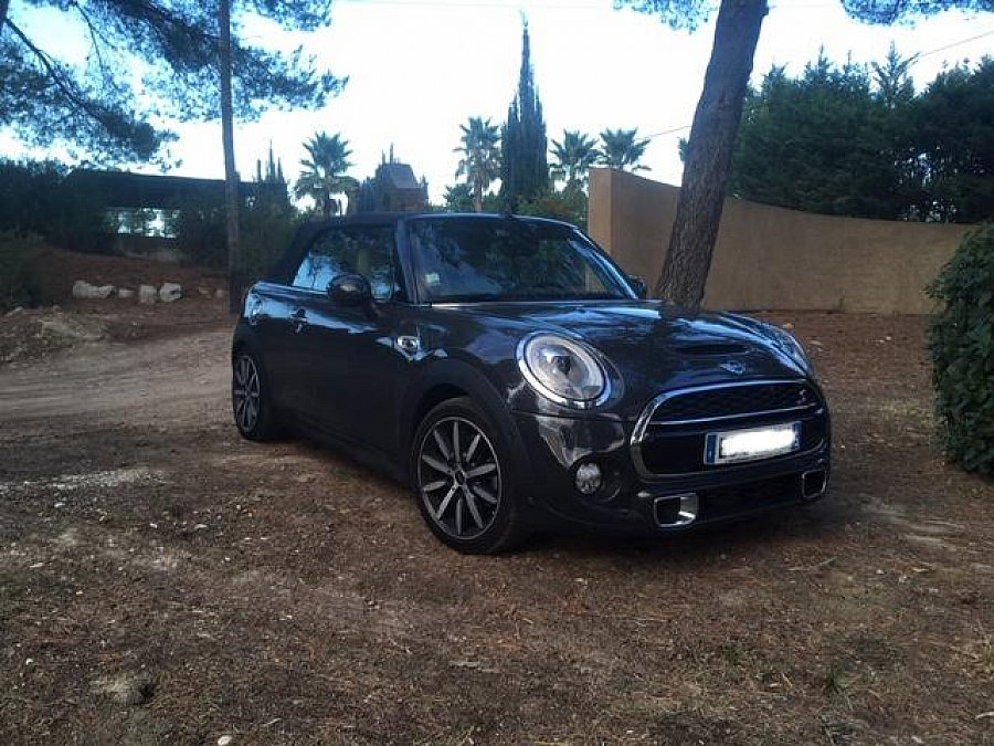 MINI CABRIOLET F57 Cooper S Red hot chili cabriolet Gris foncé occasion - 25 400 €, 33 500 km