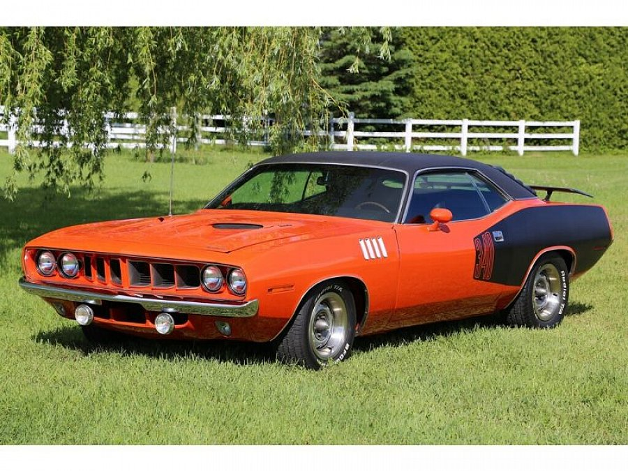 PLYMOUTH BARRACUDA coupé Orange occasion - 84 000 €, 367 km