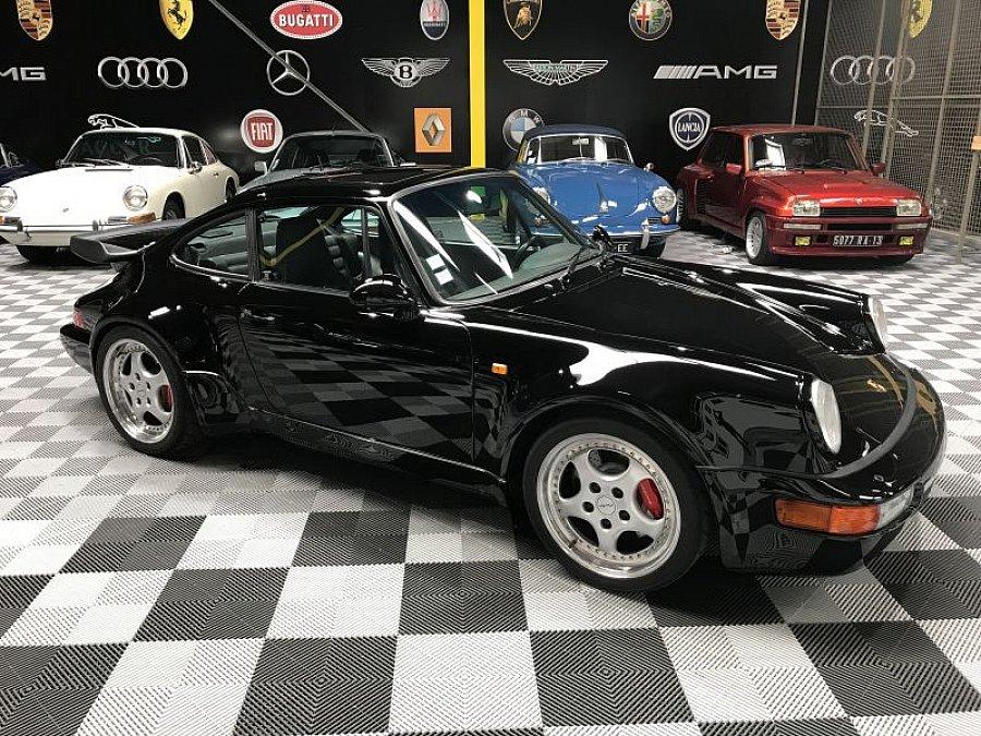 porsche 911 964 turbo s 3 3 355 ch coup noir occasion 151 000 177 000 km vente de. Black Bedroom Furniture Sets. Home Design Ideas