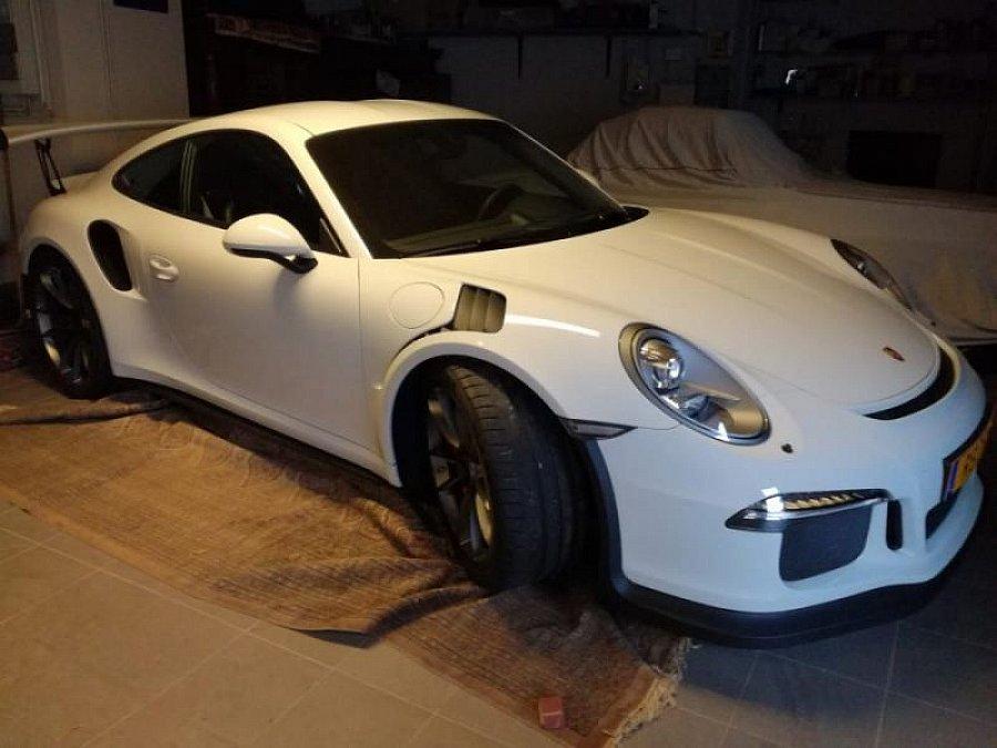 porsche 911 991 gt3 rs coup blanc occasion 181 500 4 473 km vente de voiture d 39 occasion. Black Bedroom Furniture Sets. Home Design Ideas