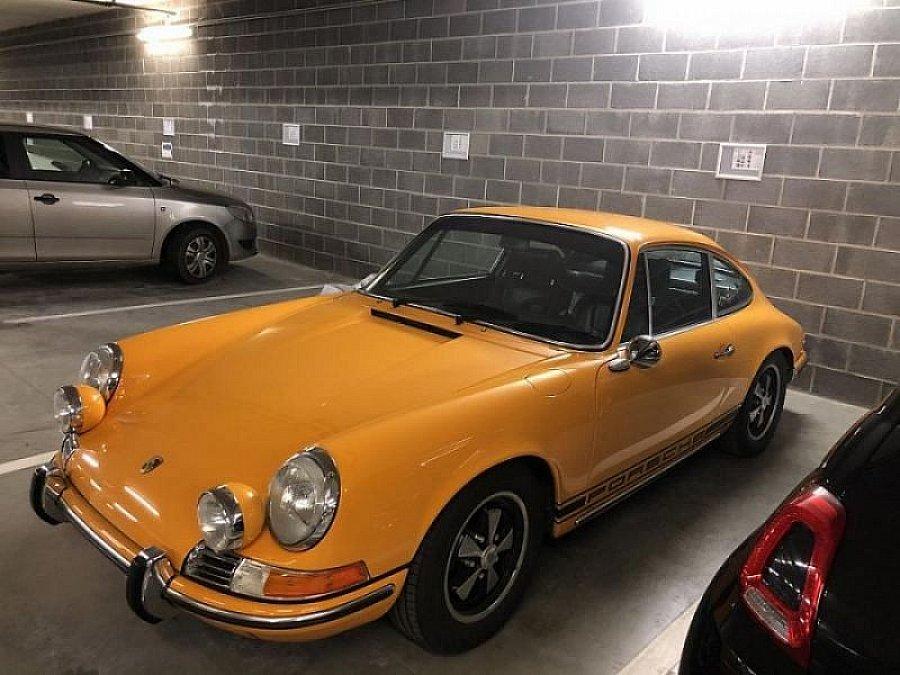 PORSCHE 911 901 T 2.2 coupé Jaune occasion - 80 000 € - 25 ...