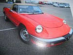 ALFA ROMEO SPIDER 2000 Veloce (Type 105) cabriolet Rouge occasion - 25 000 €, 71 741 km