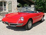 ALFA ROMEO SPIDER 1300 Junior duetto cabriolet Rouge