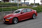 ALFA ROMEO GIULIA II 2.0 Turbo 280 ch Pack Eté, Pack Performance, Pack Assistance Conducteur, berline Rouge