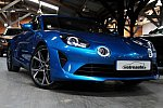ALPINE A110 II 1.8 turbo 252 ch PURE coupé Bleu