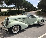 AUBURN California Custon Coach cabriolet