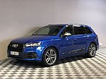 AUDI SQ7 V8 4.0 TDI 7 places SUV Bleu