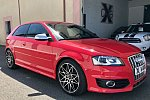 AUDI S3 Typ 8P 2.0 TFSI 265 ch berline Rouge