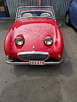AUSTIN HEALEY SPRITE Mk1 Frogeye AN5 cabriolet Rouge occasion