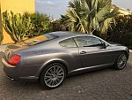 BENTLEY CONTINENTAL GT I Speed pack luxe mulliner coupé Gris clair