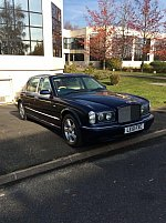 BENTLEY ARNAGE R 6.8 V8 406ch Red Label  berline Bleu