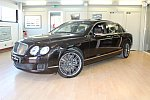 BENTLEY CONTINENTAL FLYING SPUR I SPEED berline Marron