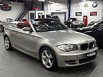 BMW SERIE 1 E88 Cabriolet 120i 170 ch LUXE cabriolet Gris occasion