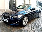BMW SERIE 4 F33 Cabriolet 435d xDrive 313 ch Luxury cabriolet Bleu