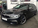 BMW SERIE 5 G30 Berline M550i xDrive 530 ch berline Noir