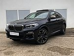 BMW X4 F26 M40d break Noir