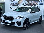 BMW X5 G05 M50i 4.4 530 ch break Blanc
