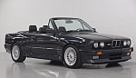 BMW M3 E30 2.3i 220 ch Full options cabriolet Noir occasion