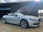 BMW SERIE 6 F12 Cabriolet 640d 313 ch xDrive cabriolet Gris