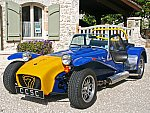 CATERHAM SEVEN Sprint Caterham Supersprint 1.7L cabriolet Bleu occasion