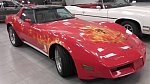 CHEVROLET CORVETTE C3 5.7 Small Block V8 (350ci) cabriolet Rouge